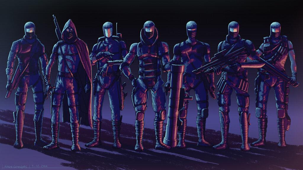 Battel squadron